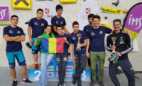 Cinci sportivi din Lotul Național de Paraclimbing au urcat pe podium la Paraclimbing Master din Imst – Austria