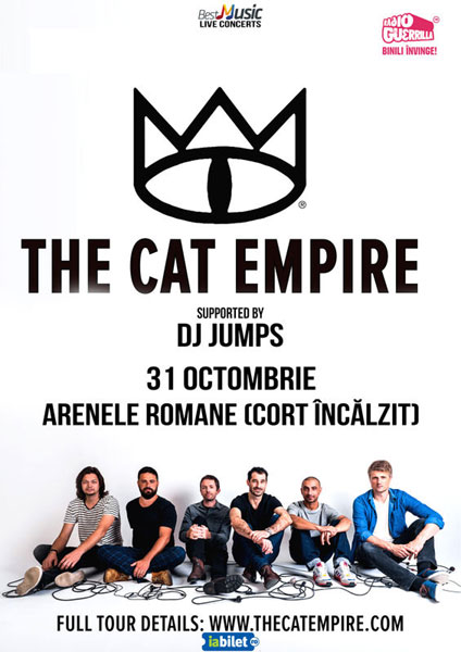 The Cat Empire 31 octombrie