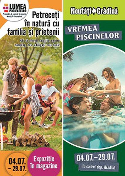 Timp liber in natura si amenajarea piscinei, proiectele lunii iulie la HORNBACH