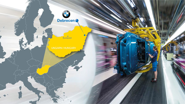 Uzina noua BMW in Europa