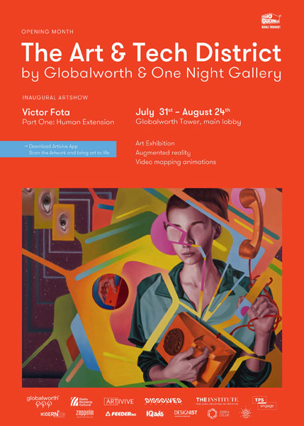 Victor Fota @Art & Tech District by Globalworth