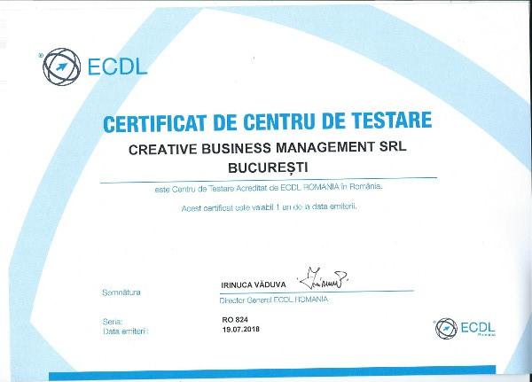 Cursurile de marketing digital livrate de agenția Creative BusinessManagement intra sub acreditarea internațională a ECDL