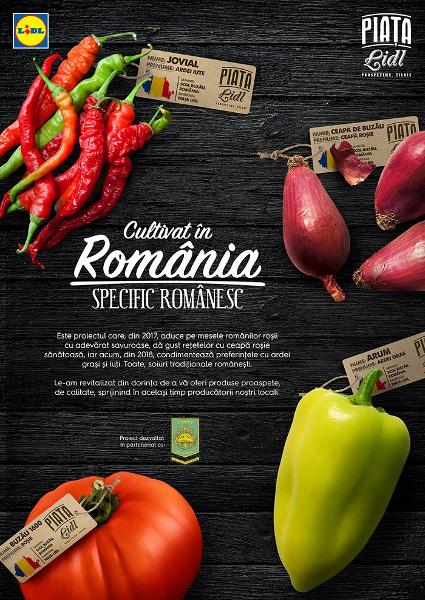 Cultivat în România specific românesc