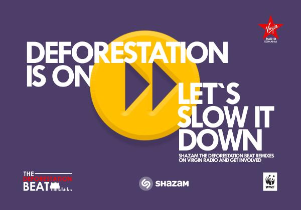 Virgin Radio și WWF România lansează The Deforestation Beat