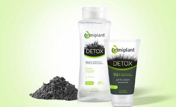 Pregătește-ți tenul pentru provocările de zi cu zi, cu noua gamă DETOX de la elmiplant