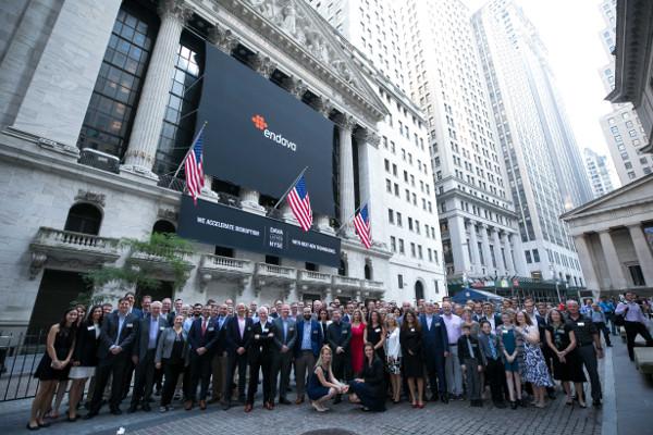 Endava s-a listat la Bursa de la New York
