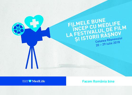 MedLife partenerul Festivalului de Film și Istorii