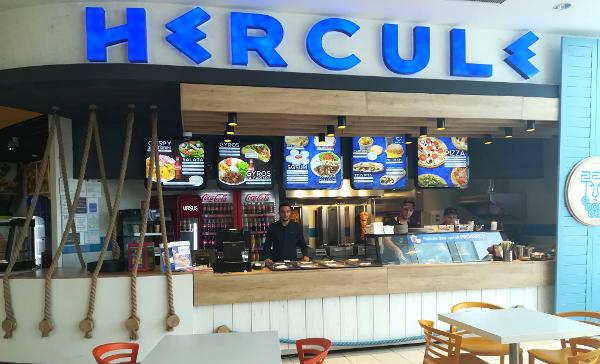 lanțul de restaurante Hercule