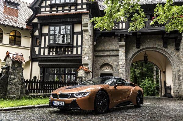 BMW i8 Roadster Concursul de Eleganţă Sinaia 2018