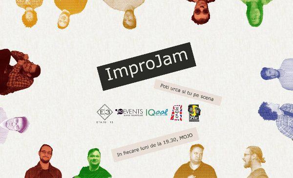 Impro Jam – proiect dedicat comunitatii de teatru de improvizatie
