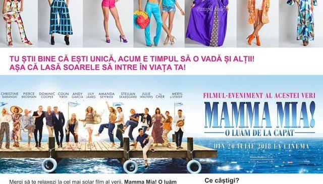 Concurs Mamma Mia! O luam de la capat