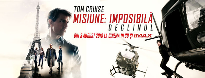 MISSION: IMPOSSIBLE - FALLOUT t.rom. MISIUNE: IMPOSIBILĂ. DECLINUL