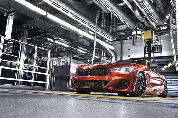 BMW Seria 8 Coupé 2018 productie