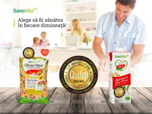 QUDAL – Quality meDAL (Medalia pentru calitate) - Sano Vita