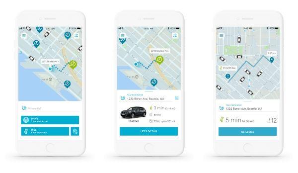 ReachNow lansează prima aplicaţie pentru unificarea car-sharing şi ride-hailing într-o experienţă unică pentru utilizator