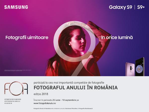 Samsung partener Fotograful Anului în România – FAR