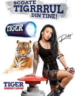 Tiger, Ruby și DDB România scot tigrul din tine
