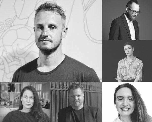 25th Golden Drum Speakers. David Pivk, Evgeny Primachenko, Maria Milusheva, Josefine Richards, Justin Billingsley, Martina Olbertova