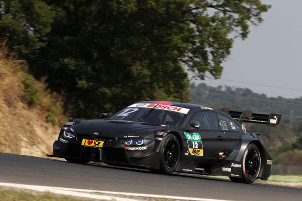 Alex Zanardi efectueaza testul DTM la Vallelunga