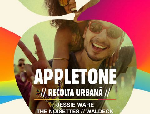 Appletone Party #RecoltaUrbana line-up complet