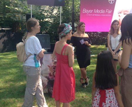 Bayer vorbeşte despre alăptare, sarcină şi sănătatea mamei şi a copilului la cel de-al 2-lea eveniment Media Fair