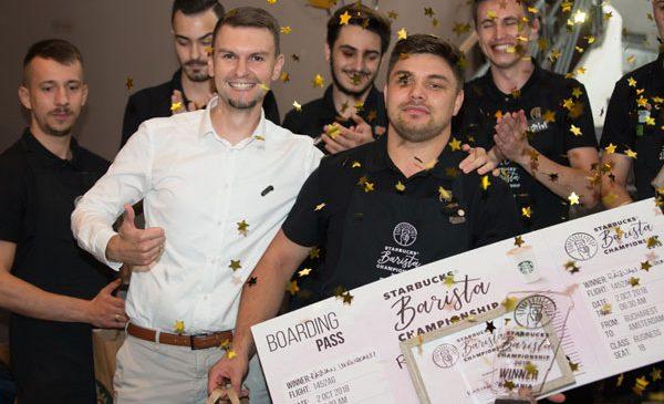 Află cine a câștigat campionatul de barista Starbucks România 2018