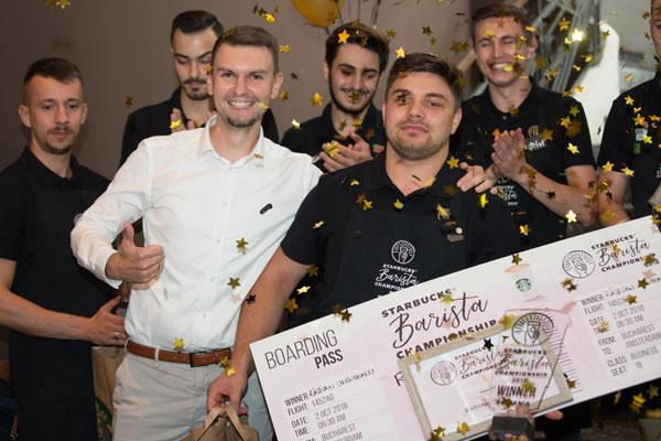Campionul barista Starbucks Romania 2018