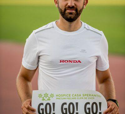 Primul ultramaratonist care înconjoară masivul Mont Blanc (171 km) pentru HOSPICE