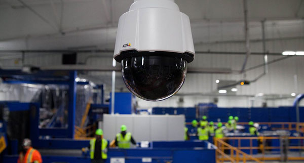 Soluție completă de supraveghere video destinată procesului de producție