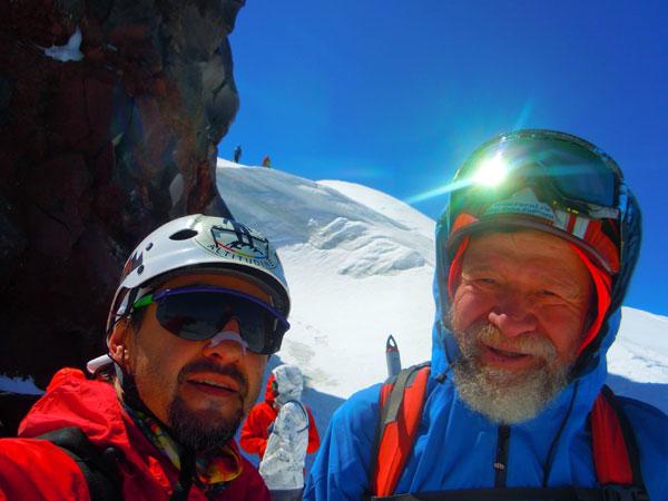 Echipa Altitude Expeditions Team Elbrus Ruta Nordica 2018