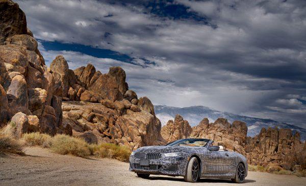 "Prin aridul ""Death Valley"" cu prototipul BMW Seria 8 Cabriolet"