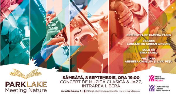 Trăiește simfonia culorilor de toamnă în Grădina ParkLake – concert al Orchestrei de Cameră Radio