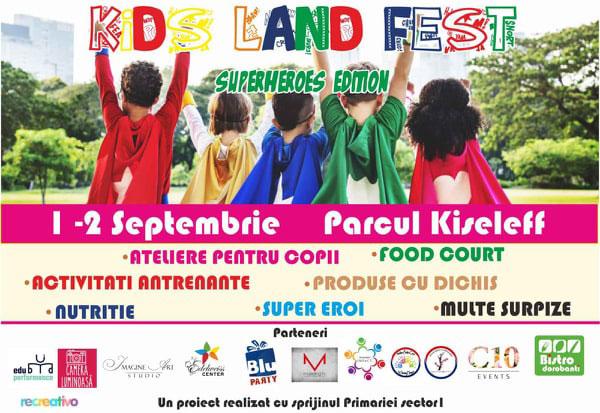 Kids Land Fest, Parcul Kiseleff