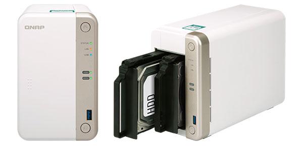 QNAP lansează serverul NAS TS-251B cu două sertare și procesor Intel dual-core