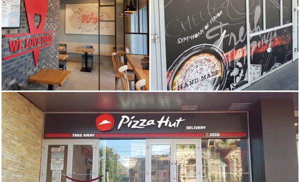 Constănţenii se pot bucura de produsele Pizza Hut la ei acasă