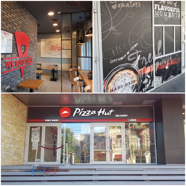 Pizza Hut Delivery, dschidere Constanta