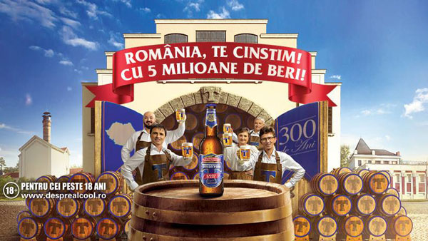 La 300 de ani de Timișoreana, România, te cinstim!