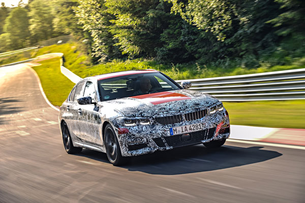 Testing at the Nurburgring, The all-new BMW 3 Series