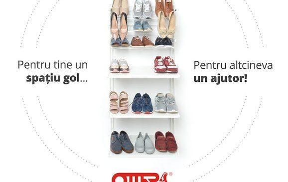 Peste 800 de fapte bune într-o lună – Campania de donații The Otter Shoes se prelungește până pe 10 noiembrie