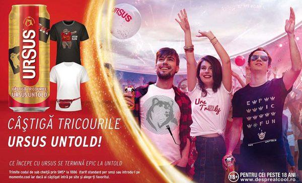 URSUS lansează, în al 4-lea an de UNTOLD Festival, o ediţie limitată de tricouri cu design inspirat de festival