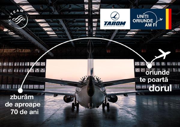 Vizual campanie TAROM 1