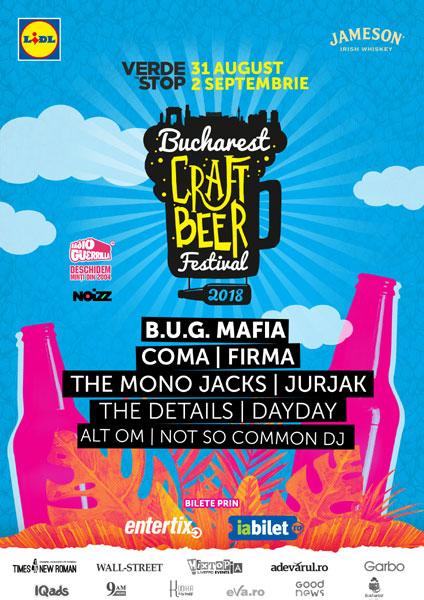 afis Bucharest Craft Beer Festival 2018
