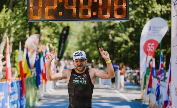 Pentru al patrulea an consecutiv, Ciprian Bălănescu câștigă Campionatul Național de Cross Triatlon