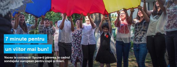 """MAE, UNICEF și Eurochild invită copiii să își spună părerile în sondajul de opinie """"Europa pe care și-o doresc copiii"""""""