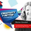 """Conferința Globală IAA """"Creativity 4 Better"""" - Marian Goodell"""