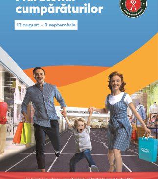 Începe Maratonul Cumpărăturilor în Centrele Comerciale Auchan din București