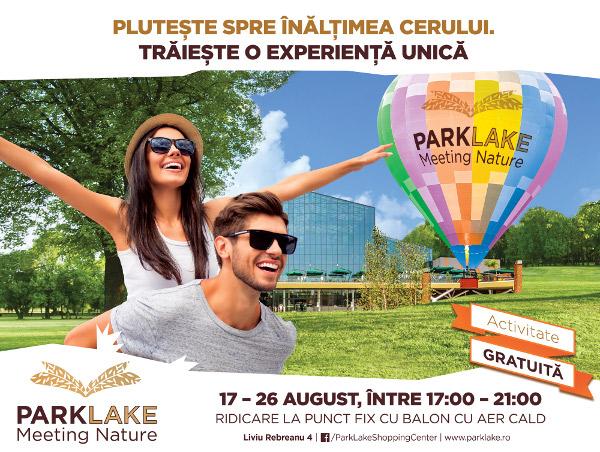 ParkLake - ridicari cu balonul cu aer cald