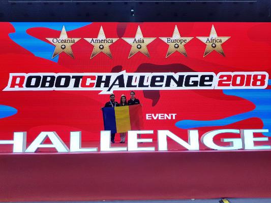 O nouă participare de succes a echipei HBFS la competiţia RobotChallenge, ediţia Beijing, 10-12 August 2018