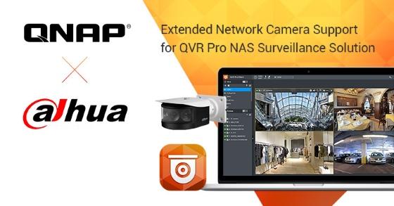 QNAP extinde integrarea sistemelor de supraveghere cu camerele de rețea Dahua Technology