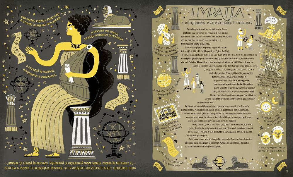 Femei în știință. 50 de femei temerare care au schimbat lumea, de Rachel Ignotovsky apare la editura Nemira